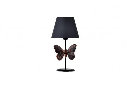 Kelebek Abajur Bakır Gri
