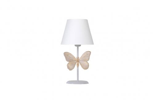 Kelebek Abajur Beyaz Beyaz