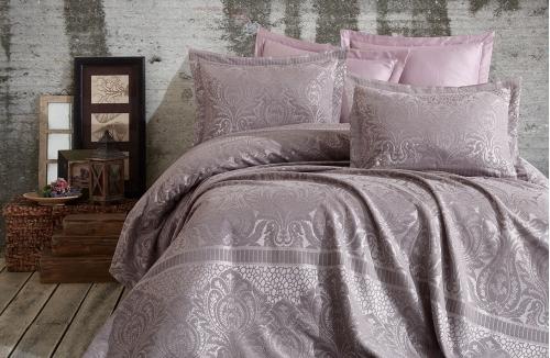 Hazel Lavanta Çift Kişilik Yatak Örtüsü